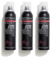 GOSH - 3 x Vitamin Booster Tørhampoo 150 ml