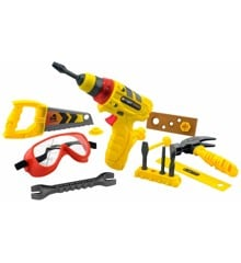 Tuff Tools - Multi-Tool Set w. Light and Sound - Power Drill