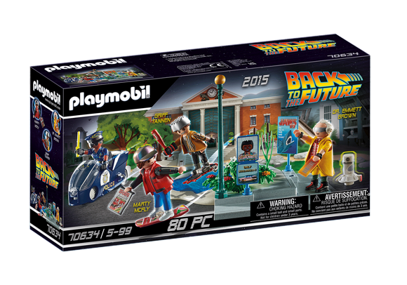 Playmobil - Back to the Future Part II Hoverboard Chase (70634)