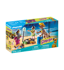 Playmobil - SCOOBY-DOO! Adventure with Witch Doctor (70707)