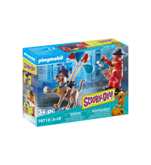 Playmobil - SCOOBY-DOO! Adventure with Ghost Clown (70710)