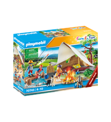 Playmobil - Adventure Camping (70743)