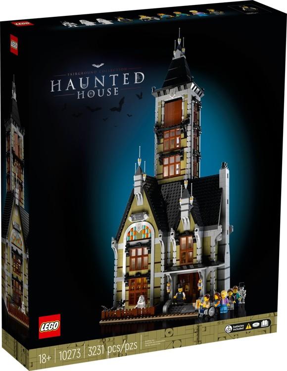 LEGO Creator Expert - Spøgelseshus i forlystelsespark (10273)