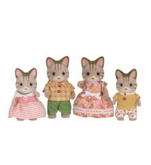 Sylvanian Families - Striped Cat Family (5180)