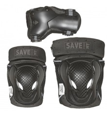 Save My Bones - Safety Set - Black XS (401020-xs)