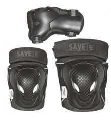Save My Bones - Safety Set - Black XL (401020-xl)