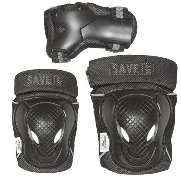 Save My Bones - Safety Set - Black XL (401020-xl)