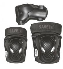 Save My Bones - Beskyttelses sæt - Sort S