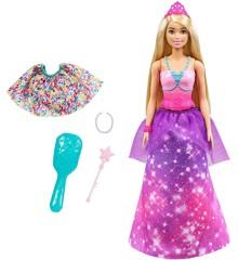 Barbie - Dreamtopia - 2-in-1 Doll - Princess (GTF92)