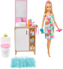 Barbie - Room & Doll - Bathroom (GRG87)