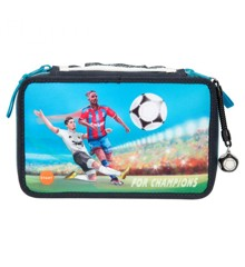 For Champions - Trippel Pencil Case w/LED - Football (0411290)