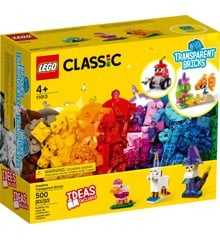 LEGO Classic - Creative Transparent Bricks (11013)