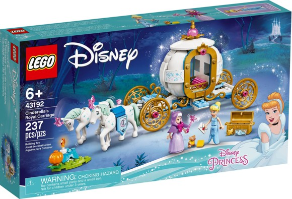 LEGO Disney - Cinderella's Royal Carriage (43192)