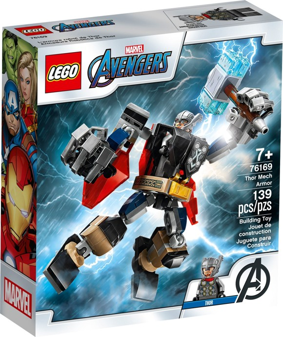 LEGO Super Heroes - Thor Mech Armor (76169)