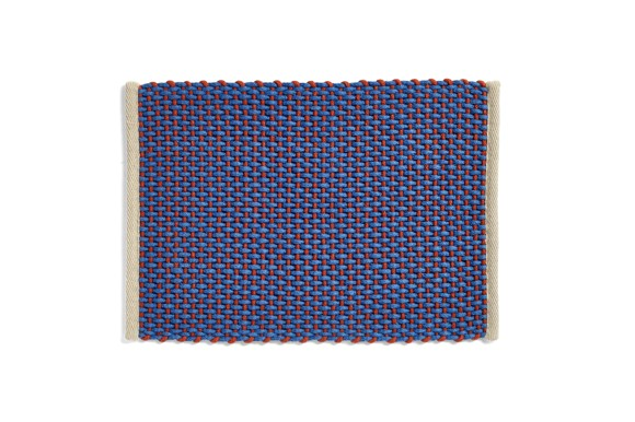 HAY - Dørmåtte 50 x 70 cm - Blå