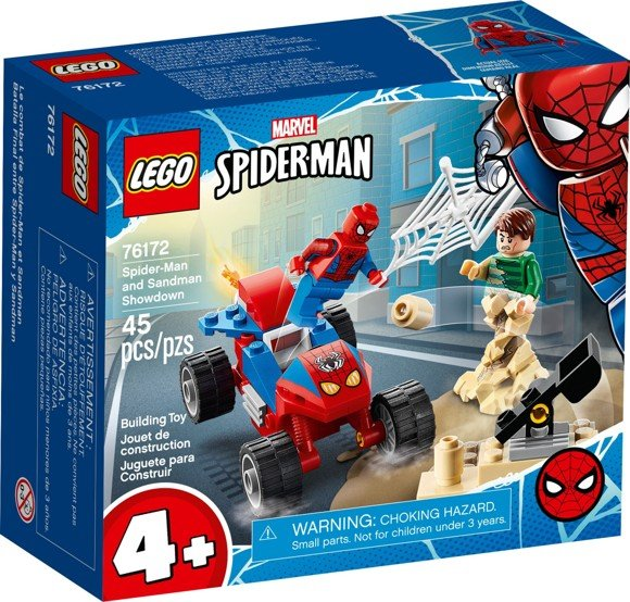 LEGO Super Heroes - Spider-Man and Sandman Showdown (76172)