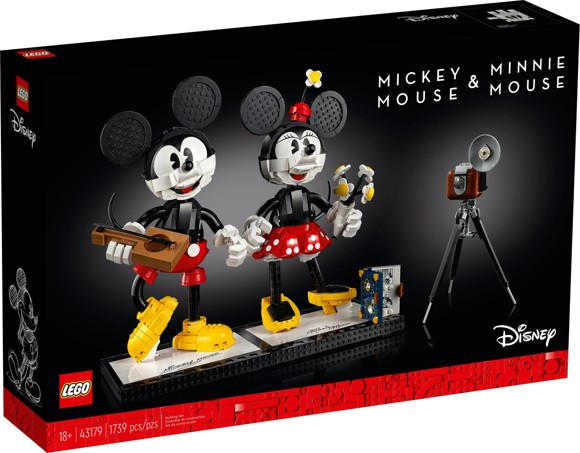LEGO Disney - Mickey Mouse & Minnie Mouse Buildable Characters (43179)
