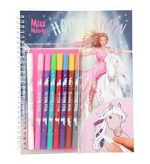 Miss Melody - Horse Show Malebog m/Magic Tuscher