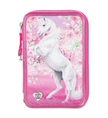 Miss Melody - Trippel Pencil Case - Cherry Blossom (0411424)