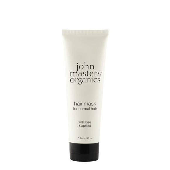 John Masters Organics - Hair Mask for Normal Hair w. Rose & Apricot 148 ml
