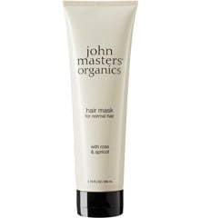 John Masters Organics - Hair Mask for Normal Hair w. Rose & Apricot 258 ml
