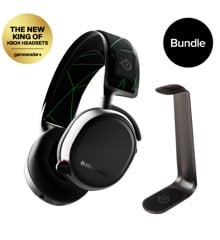 Steelseries - Arctis 9X - Wireless Gaming Headset & HS1 Headset Stand - Bundle