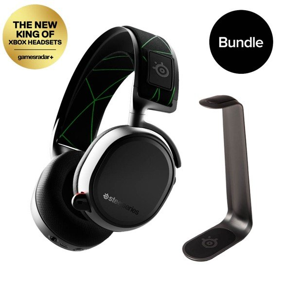 Steelseries - Arctis 9X - Wireless XBOX Gaming Headset & HS1 Headset Stand - Bundle
