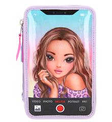 Top Model - Tripel Pencil Case w/LED - Selfie (0411168)