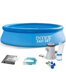 INTEX - Easy Set Pool m/Filter Pumpe 2.44m x 61cm (1.942 L)