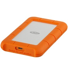 Lacie - Rugged 1TB Crush- And Rain-Resistant Harddisk