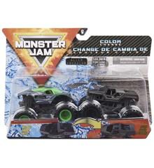 Monster Jam 1:64 2 Pakke - Alien Invasion & Soldier Fortune