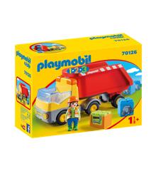 Playmobil - 1.2.3 - Tipvogn (70126)
