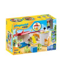 Playmobil - 1.2.3 - Take-along børnehave (70399)