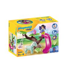 Playmobil - 1.2.3 - Fe-legeplads (70400)