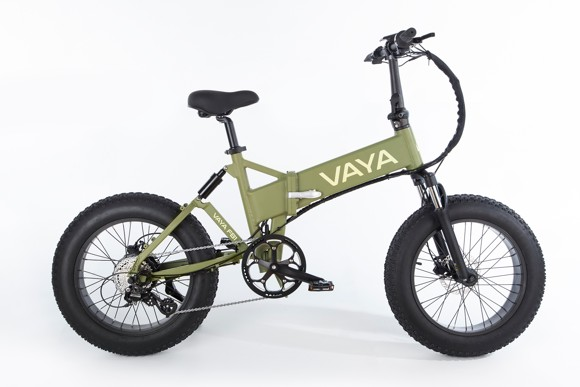 Vaya - Fatbike FB-1 E-Bike - Electric Bike - Army Green (1647AR)