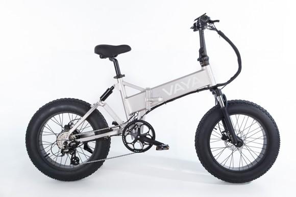 Vaya - Fatbike FB-1 E-Bike - Electric Bike - Silver (1647SI)