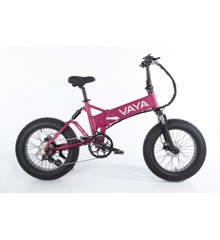 Vaya - Fatbike FB-1 E-Bike - El Cykel - Grape (1647GR)