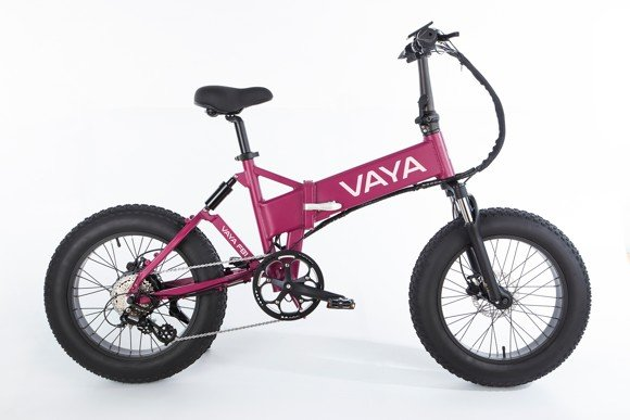 Vaya - Fatbike FB-1 E-Bike - Electric Bike - Grape (1647GR)