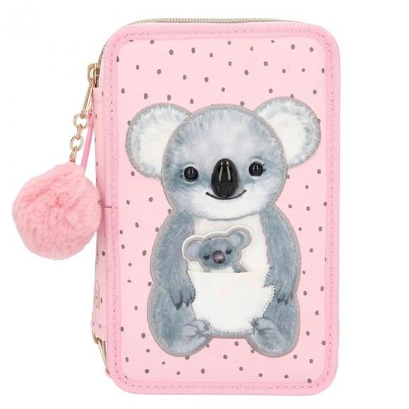 Top Model - Trippel Pencil Case - Koala (0411202)