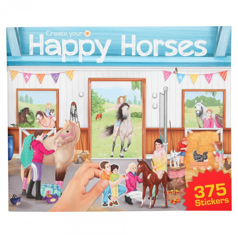 Create your - Happy Horse - Activity Book w/Stickers (0410747)