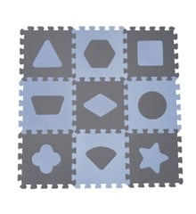 Baby Dan - Playmat Geometric Shapes - Blue