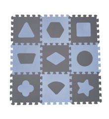 Babydan - Playmat Geometric Shapes - Blue