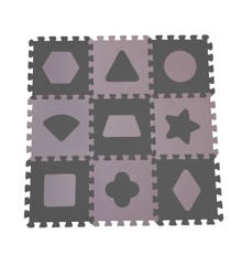 Babydan - Playmat Geometric Shapes - Rose