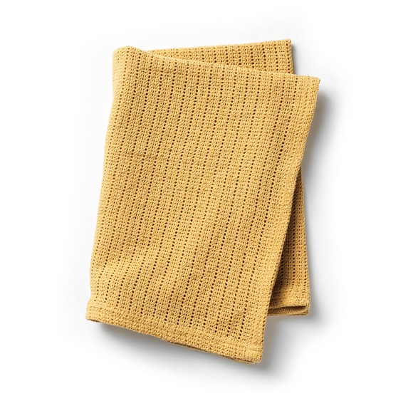 Elodie Details - Cellular Blanket -  Gold