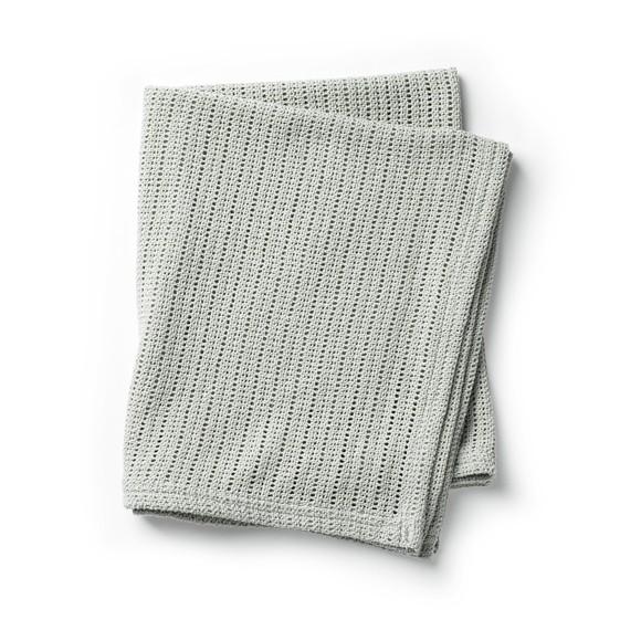 Elodie Details - Cellular Blanket - Mineral Green