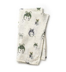 Elodie Details - Bamboo Muslin Blanket - Forest Mouse
