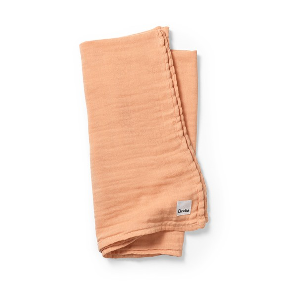 Elodie Details - Bamboo Muslin Blanket - Amber Apricot