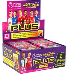 Premier League - 20/21 Adrenalyn XL - PLUS Booster Display (Football Cards)