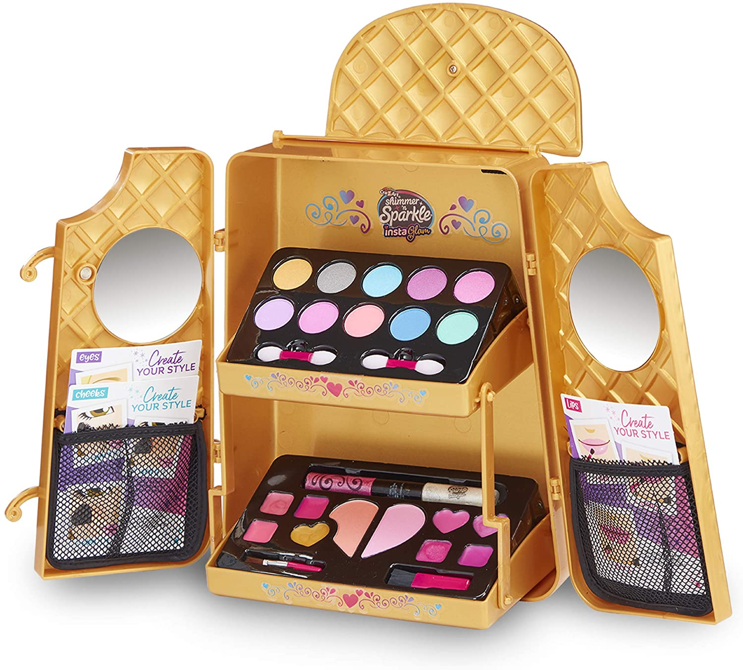 Shimmer and Sparkle - Instaglam - Cosmetic Backpack (40-00625)