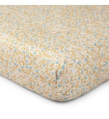 That's Mine - Bed Sheet Junior 70 x 160 cm - Mini Flower Blue (SS224)